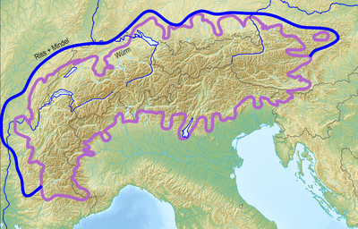 Map of Alpine Glaciations.png