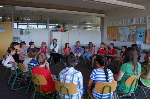 Klassenkameraden kennenlernen