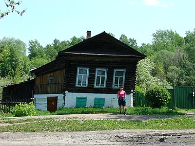 Traditional Wooden House in Tomsk - Siberia - Russia.jpg